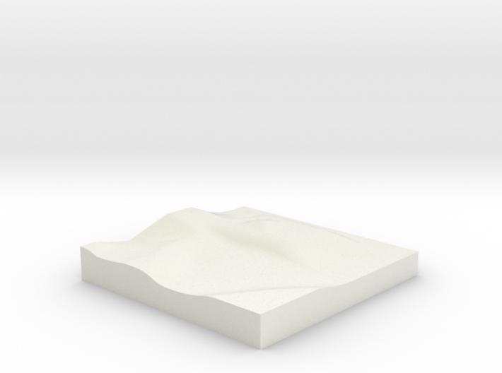 1/144 Desert base for dioramas 3d printed