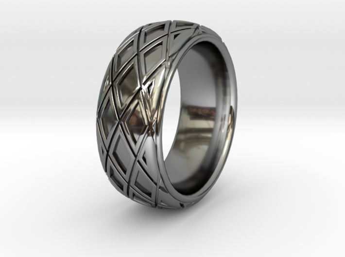 X CROSS RING SIZE 10.5 3d printed