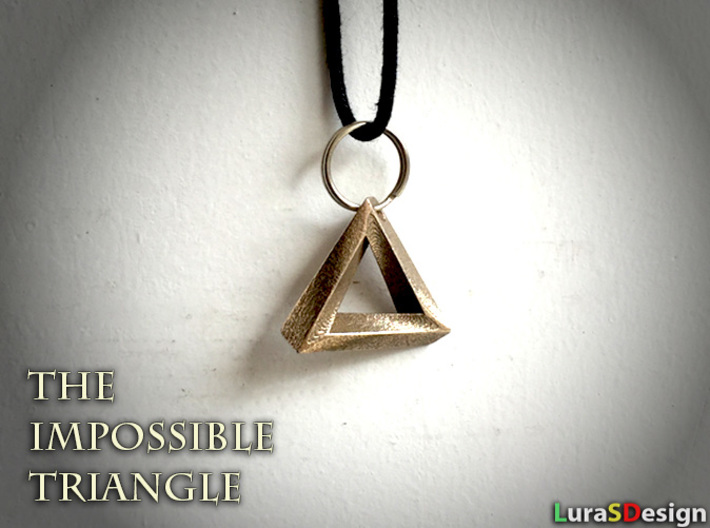 penrose product triangle pendant by interstellarcreations
