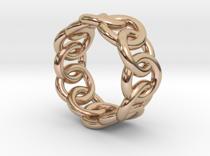 Chain Ring 26 – Italian Size 26 3d printed