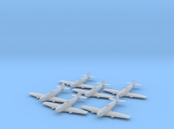 Supermarine Seafang 1:285 x6 FUD 3d printed
