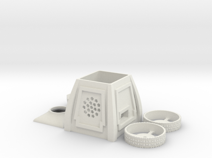 miniSuperHeroJr-02 KIT 3d printed