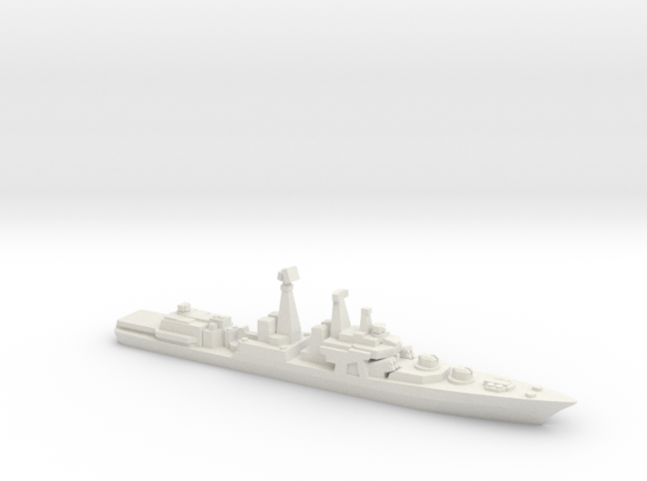 Udaloy I-class destroyer, 1/2400 3d printed