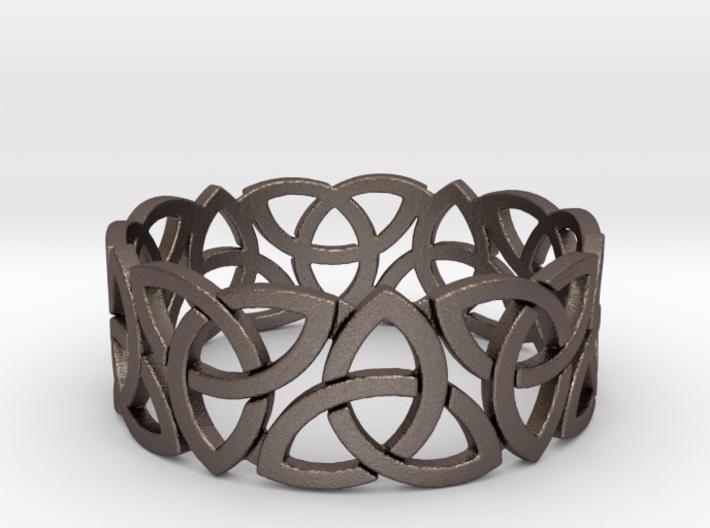 Celtic ring V1 Ring Size 10 3d printed