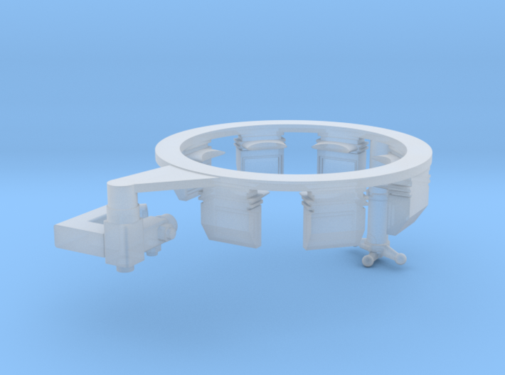 TC Interior ring for Leo1A5 with TRP and EMES 18 3d printed