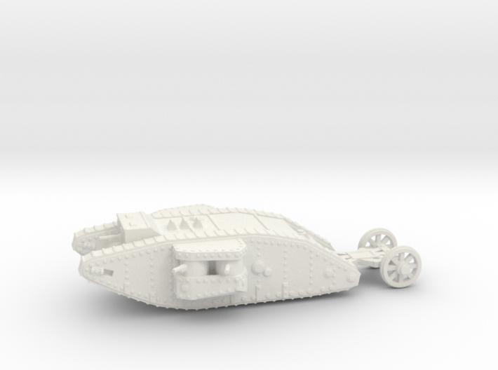 1/160 Mk.I Female tank 3d printed