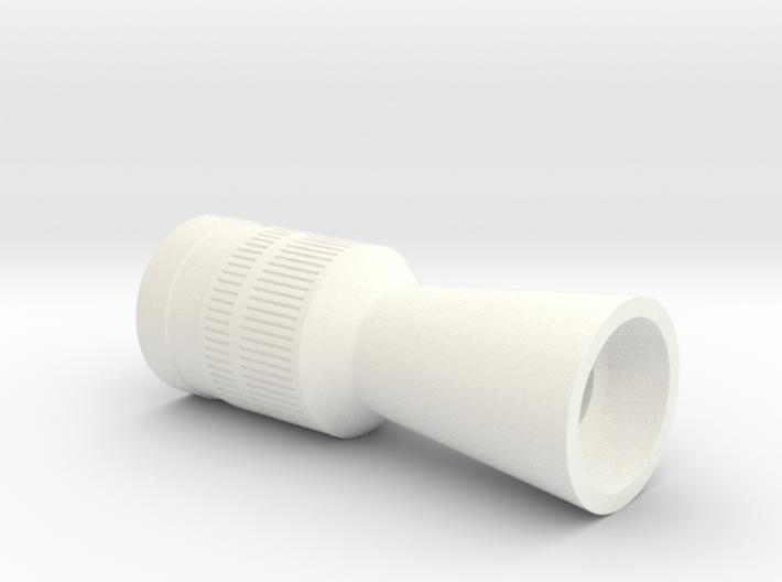 ESB Flash Hider (Hoth Version NOCUT barrel) 3d printed
