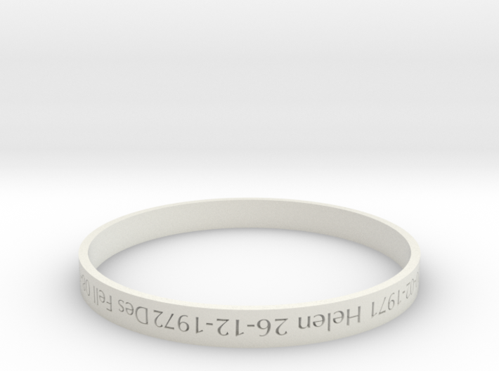 Family Bangle - heritage piece 3d printed