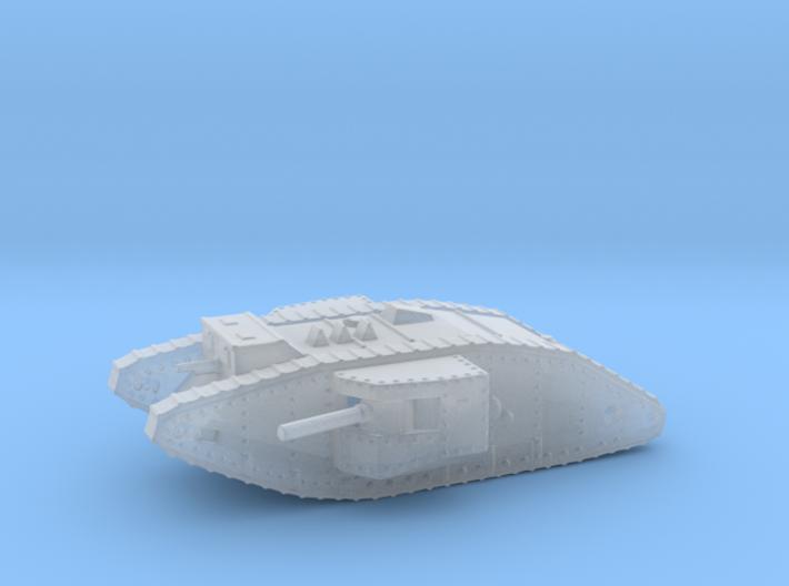 1/160 Mk.II Male tank 3d printed