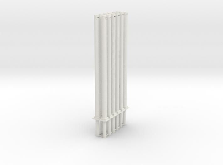 2 Masten Für Quertragewerk 6fach 3d printed