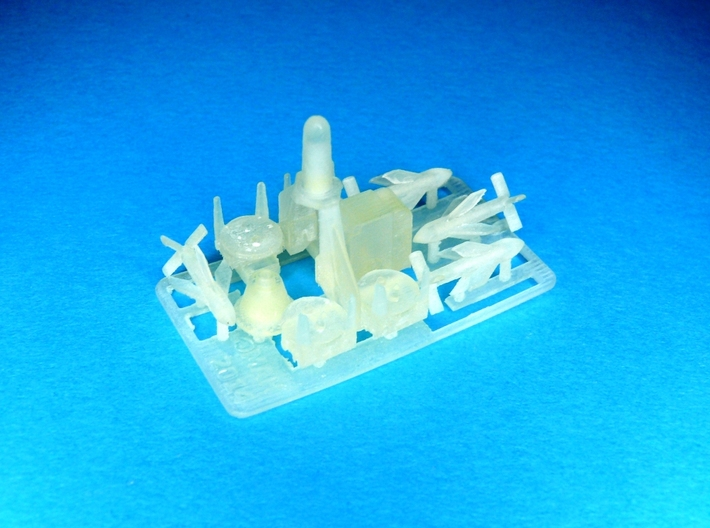 Seacat Launcher Kit 1/72 3d printed