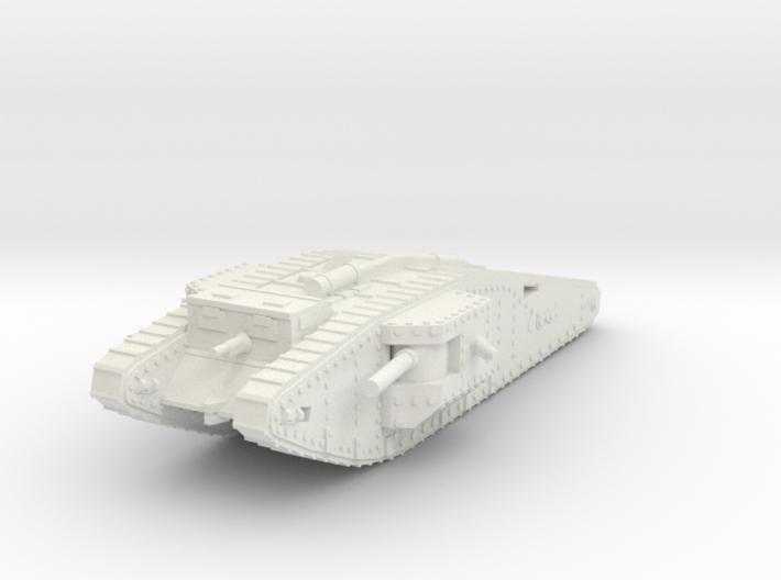 1/144 Mk.IV Male Tadpole tank 3d printed