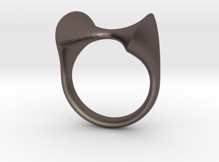 RIOT Rings: The Mugatu size 8 3d printed