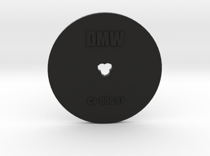 Clay Extruder Die: Coil 006 01 3d printed