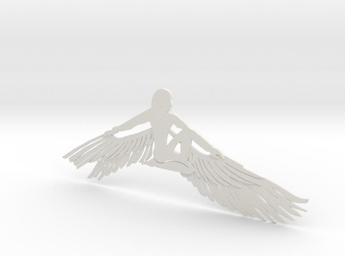 Lady Queen Bird 3d printed