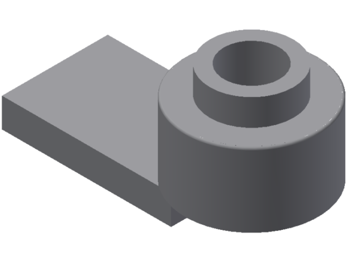 Truck adaptor for Walthers trucks 3d printed 3D model