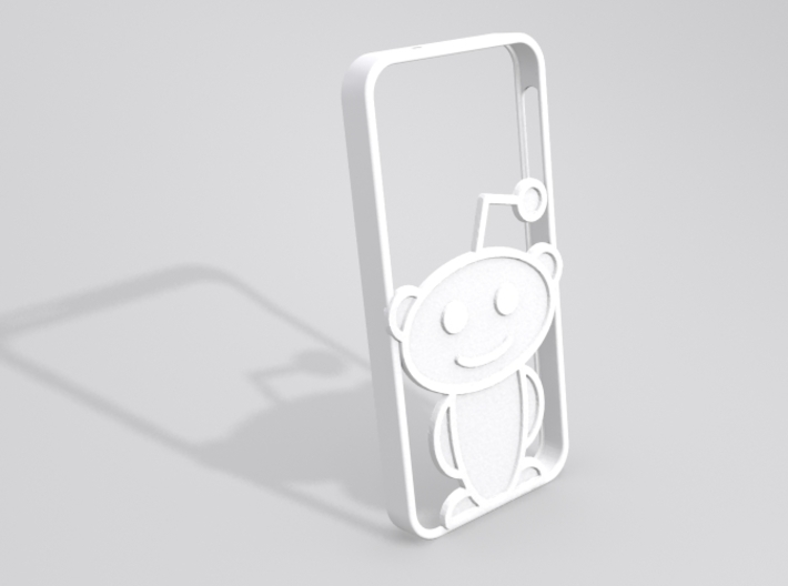 Alien iPhone 5 case 3d printed Sample render