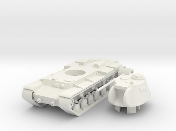 1/100 KV-3 3d printed