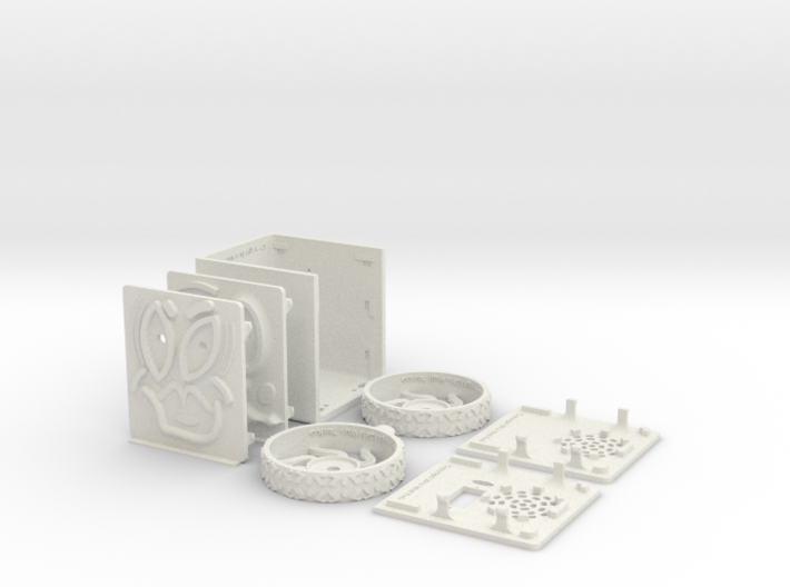 MiniFloppyBot KIT 3d printed