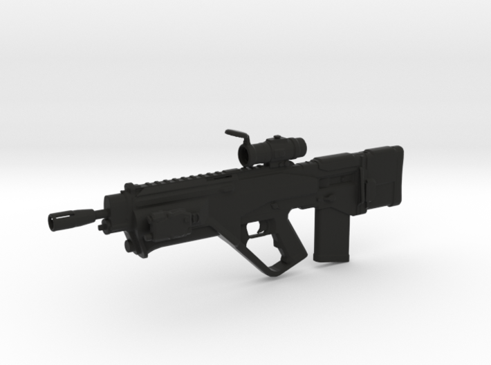 Lyudmilad Rifle (1:6 Scale) 3d printed