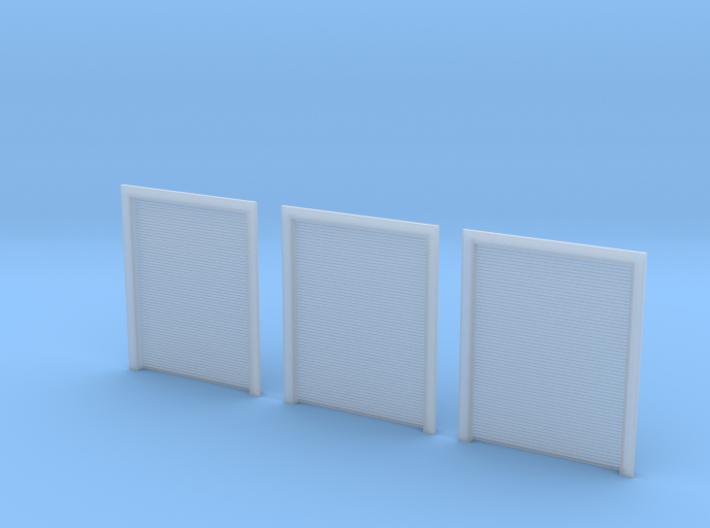 N Scale 3x Overhead Door #4 3d printed