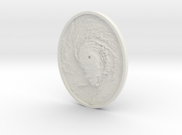 Hurricane Eye Pendant 3d printed