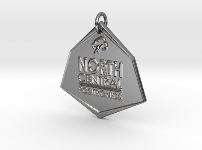 North Central Positronics Pendant 3d printed