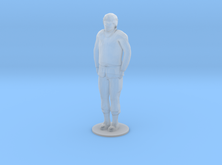 Male Soldier Standing (1/48) 3d printed
