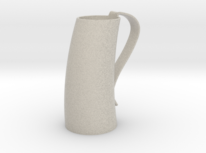 Game of Thrones Horn Mug 3d printed