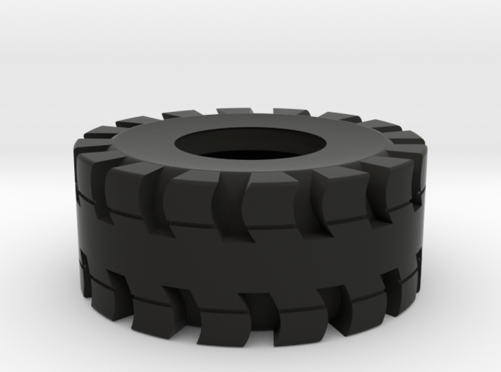 Tire for trailer load 3d printed