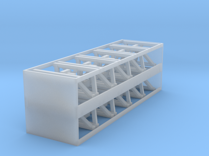 Track Bumpers - Set of 20 - HOscale 3d printed