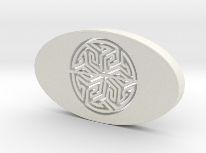 soap holder with Arabic Tile 3d printed