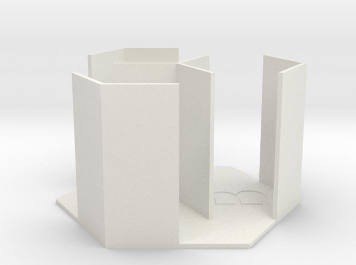 66mm tile stack for 52mm tiles 3d printed