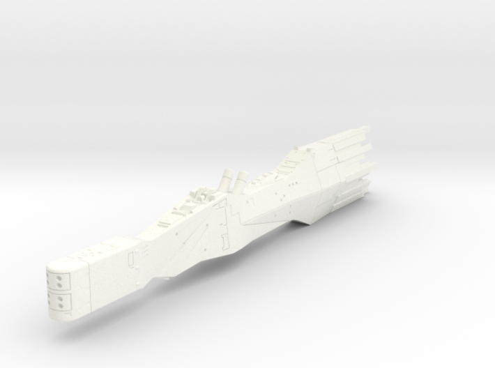 LoGH Alliance Battleship 1:8000 3d printed