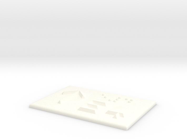 E4 mit Pfeil nach oben 3d printed