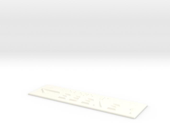 EBENE 1 mit Pfeil nach links 3d printed