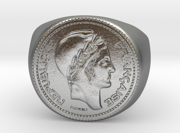 10 Francs 1949  3d printed