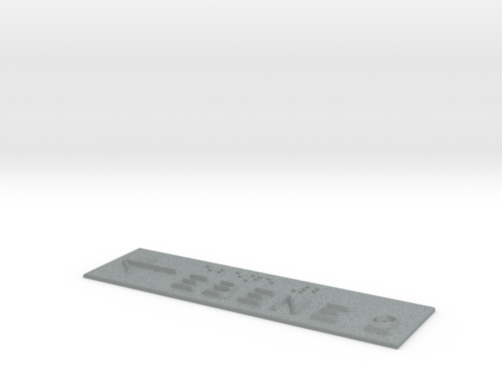 EBENE 2 mit Pfeil nach links 3d printed