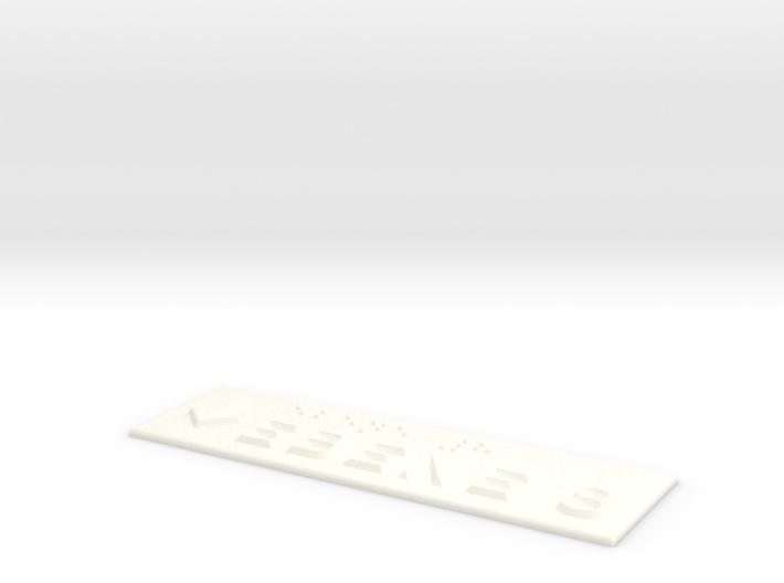 EBENE 8 mit Pfeil nach unten 3d printed