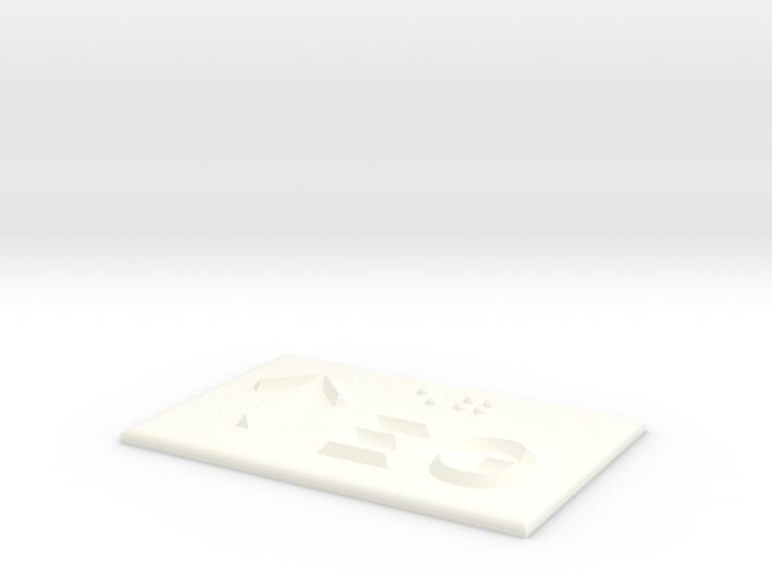 EG mit Pfeil nach oben 3d printed