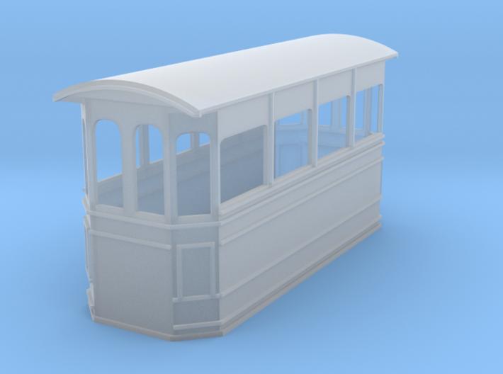 Kitson style steam tram 009 3d printed