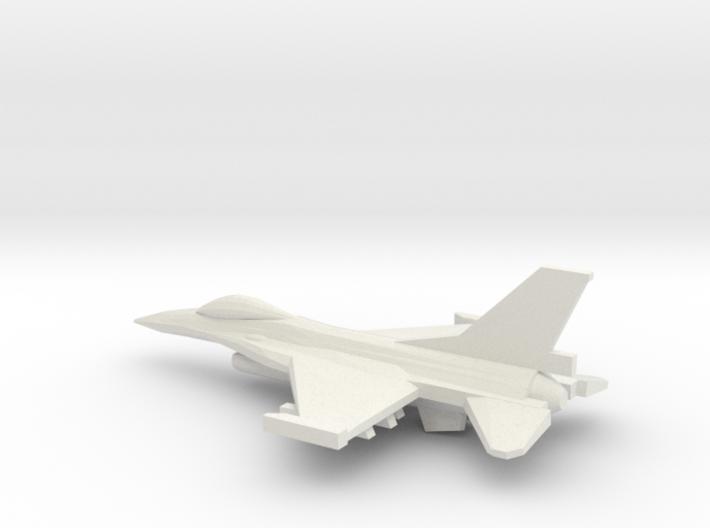 1/350 F-16C Viper 3d printed
