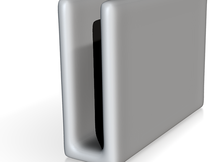 Celadon Selfie Napkin Holder 3d printed