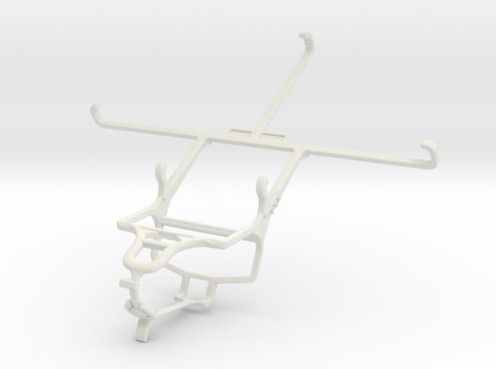 Controller mount for PS4 & Asus Memo Pad 7 ME176C 3d printed