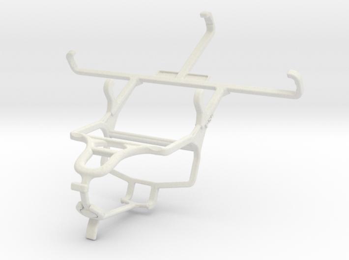 Controller mount for PS4 & Motorola Moto G (2014) 3d printed