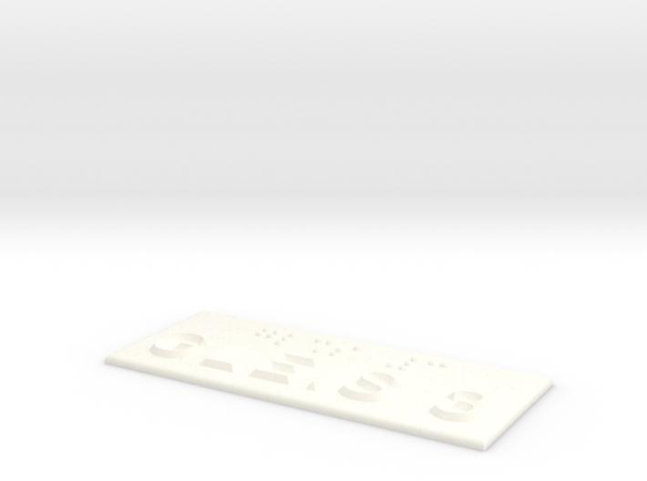 GLEIS 3 3d printed