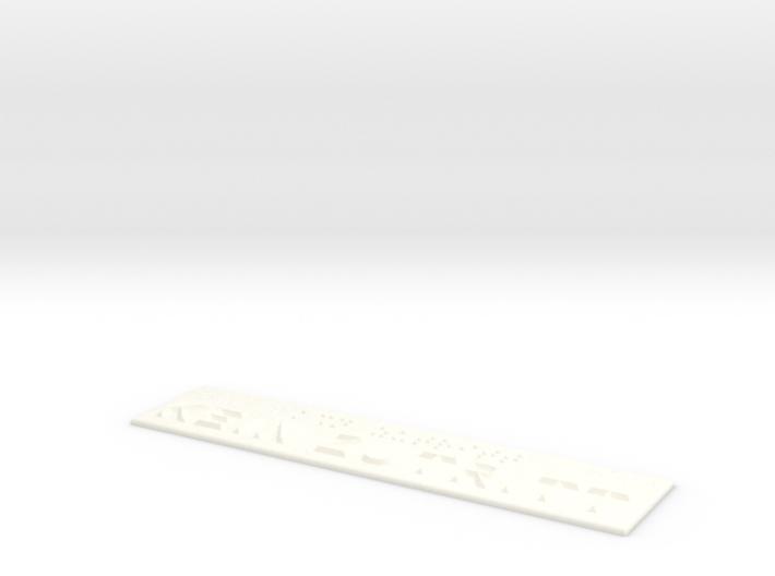 KEIN ZUTRITT 3d printed