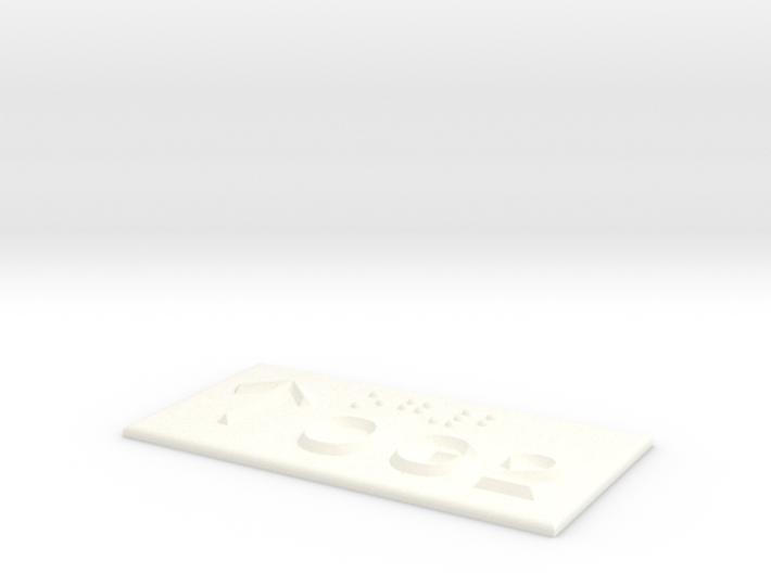 OG 2 mit Pfeil nach oben 3d printed