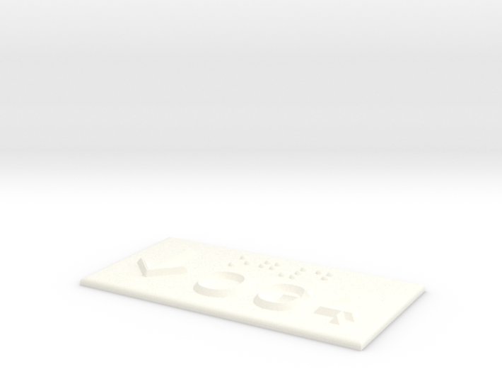 OG 4 mit Pfeil nach unten 3d printed
