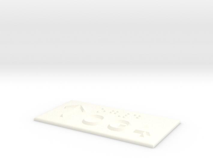 OG 4 mit Pfeil nach oben 3d printed